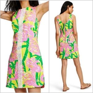 Lilly Pulitzer for Target pink/yellow shift dress